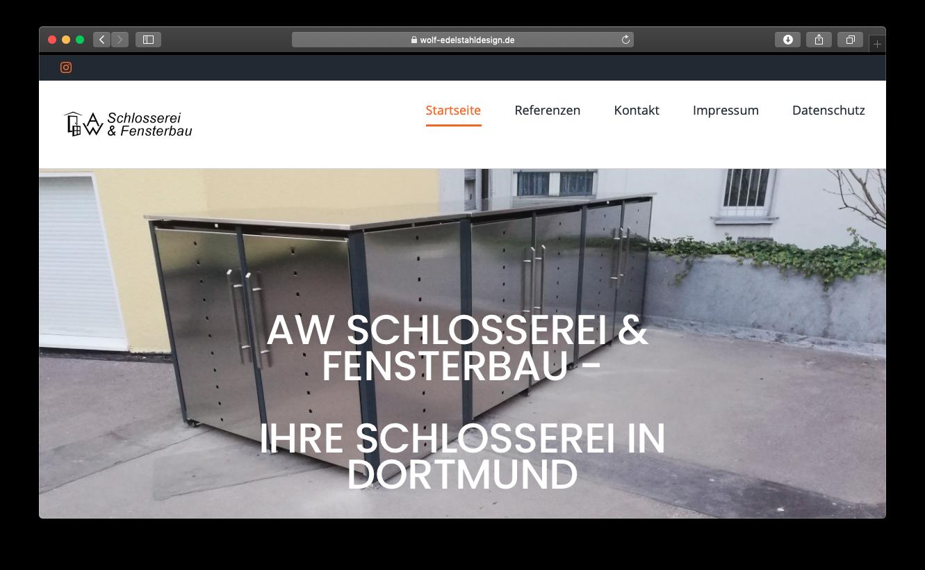 Schlosser webdesign
